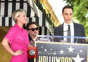 Kaley Cuoco and Jim Parsons - Star of the American TV show 'The Big Bang Theory' Kaley Cuoco was given...