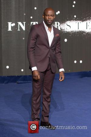 David Gyasi - Photogrpahs of the Hollywood stars as they attended the UK Premiere of Sci-Fi movie 'Interstellar' The premiere...