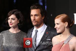 Anne Hathaway Was A Day Late For Matthew Mcconaughey's Birthday Party