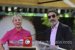 Kaley Cuoco and Chuck Lorre - Kaley Cuoco receives the 2,532nd star on the Hollywood Walk of Fame, and is...