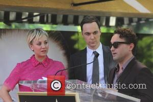 Kaley Cuoco, Johnny Galecki and Jim Parsons - Kaley Cuoco receives the 2,532nd star on the Hollywood Walk of Fame,...