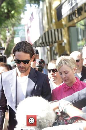 Kaley Cuoco and Ryan Sweeting - Kaley Cuoco receives the 2,532nd star on the Hollywood Walk of Fame, and is...