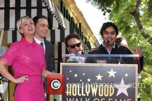 Kaley Cuoco, Jim Parsons, Johnny Galecki and Kunal Nayyar - Star of the American TV show 'The Big Bang Theory'...