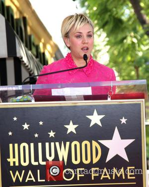 Kaley Cuoco - Star of the American TV show 'The Big Bang Theory' Kaley Cuoco was given a star which...