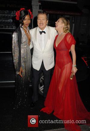 Naomi Campbell, Mario Testino and Kate Moss