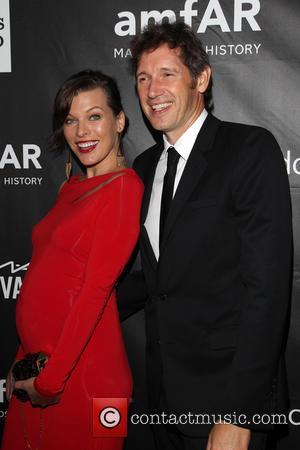 Milla Jovovich, Paul W. S. Anderson, Milla Jovovich and Paul W. S. Anderson - amfAR LA Inspiration Gala Honoring Tom...