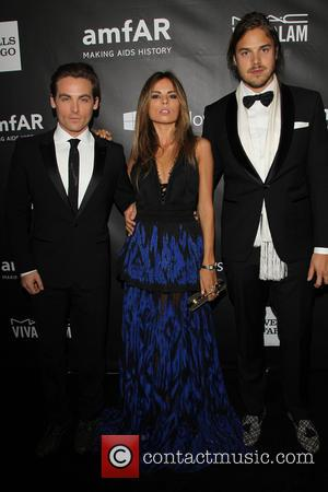 Kevin Zegers and Guests - The foundation for aids research amfAR LA Inspiration held a Gala in honor of fashion...