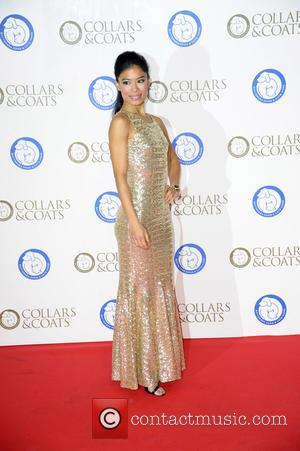 Vanessa Mae - Photographs of a variety of stars as they attended the Collars & Coats Gala Ball in aid...