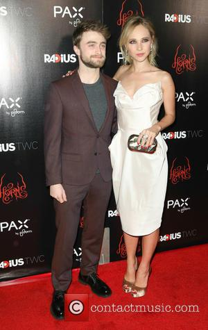Daniel Radcliffe and Juno Temple - Photographs of the stars on the red carpet at the Los Angeles premiere of...
