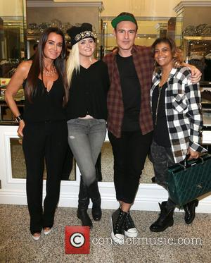 Kyle Richards and Matthew Keegan - Images from wife of Magic Johnson Cookie Johnson's Trunk Show held  at Kyle...