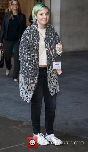Lena Dunham - Celebrities at BBC Radio 1 at BBC Portland Place - London, United Kingdom - Thursday 30th October...