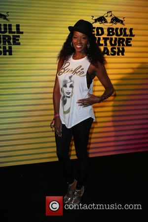 Jamelia - Snaps of various stars as they arrive at the Red Bull Culture Clash which was held at Earls...
