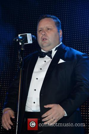 Paul Potts - Celebrities  at  Intu Trafford Centre Christmas Lights Switch On, Trafford Centre Manchester. - Manchester, United...