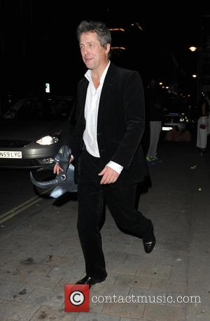 Hugh Grant - The UNICEF Halloween Ball at One Mayfair - London, United Kingdom - Thursday 30th October 2014