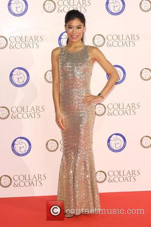 Vanessa-Mae - Photographs of a variety of stars as they attended the Collars & Coats Gala Ball in aid of...