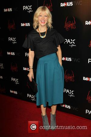 Arden Myrin - Photographs of the stars on the red carpet at the Los Angeles premiere of 'Horns' starring Danierl...
