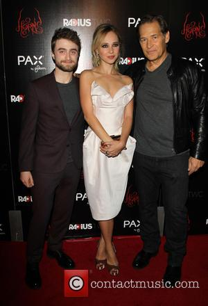 Daniel Radcliffe, Juno Temple and James Remar