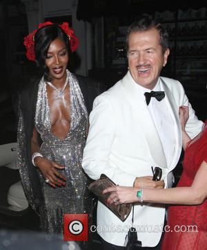 Mario Testino and Naomi Campbell
