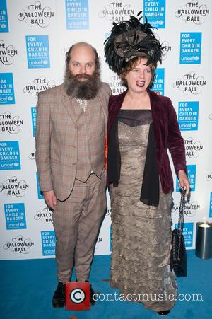 Gavin Turk and Deborah Curtis - Shots from the worlds leading organisation for children UNICEF's Halloween Ball which was held...