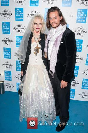 Christina Knudsen and Guest - Shots from the worlds leading organisation for children UNICEF's Halloween Ball which was held at...