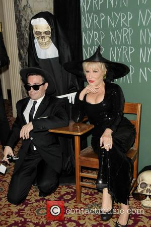 Mario Cantone and Bette Midler - New York Restoration Projects' 19th Annual Halloween Gala: 'Fellini Hulaweeni' - Arrivals - New...