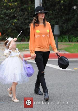 Alessandra Ambrosio and Anja