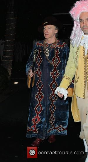 Bill Maher - Bill Maher spotted leaving a Halloween costume party with friends - Los Angeles, California, United States -...