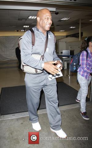 Tiny Lister - Celebrities at LAX airport in Los Angeles - Hollywood, California, United States - Friday 31st October 2014