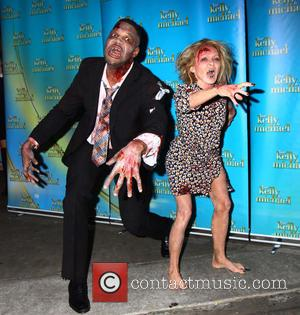 Kelly Ripa and Michael Strahan