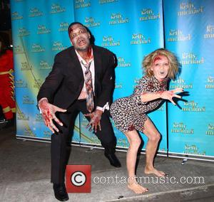 Kelly Ripa, Michael Strahan and Walking Dead