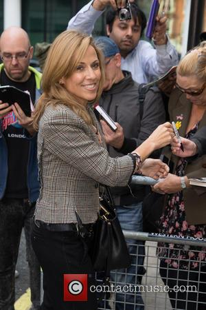 Sheryl Crow - Sheryl Crow arrives at the BBC Radio 2 studios at BBC Portland Place - London, United Kingdom...
