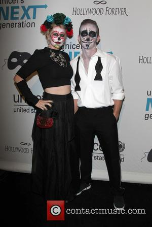 Eric Ladin and Guest - UNICEF's Next Generation's 2nd Annual UNICEF Masquerade Ball at The Masonic Lodge at Hollywood Forever...