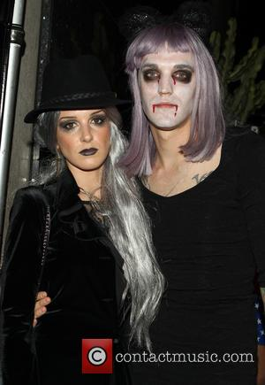Shenae Grimes and Josh Beech - Adam Lambert's 2nd Annual Halloween Bash presented by business entrepreneurs John Terzian and Brian...