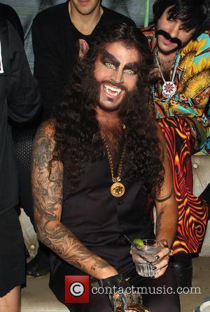 Adam Lambert - Adam Lambert's 2nd Annual Halloween Bash presented by business entrepreneurs John Terzian and Brian Toll - Inside...