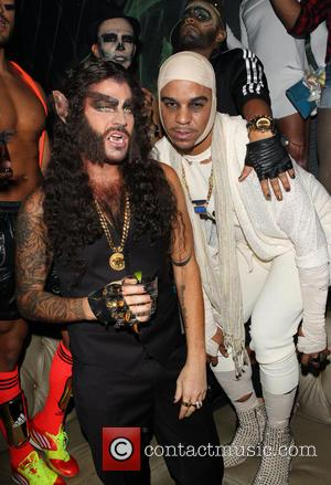 Adam Lambert and Jovan Carrington