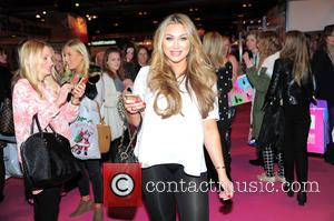 Lauren Goodger - Clothes Show Live 2014 at the NEC Birmingham - Day 2 at National Exhibition Centre, Clothes Show...