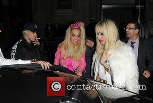 Rita Ora, Ricky Hilfiger and Nick Grimshaw