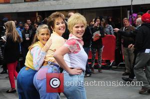 Meredith Vieira, Savannah Guthrie and Jenna Bush