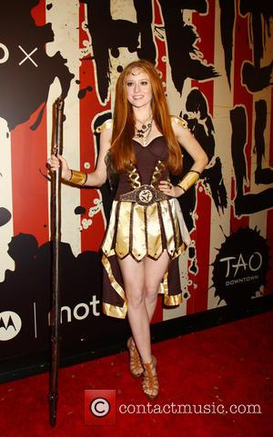 Barbara Meier - Heidi Klum's 15th Annual Halloween Party at TAO Downtown - New York, New York, United States -...