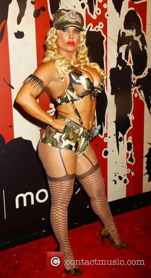 Coco Austin - Heidi Klum's 15th Annual Halloween Party at TAO Downtown - New York, New York, United States -...