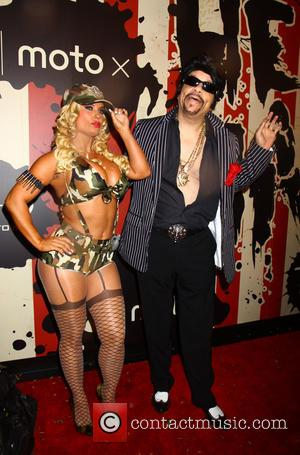 Coco Austin and Ice-T - Heidi Klum's 15th Annual Halloween Party at TAO Downtown - New York, New York, United...