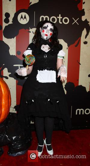 Michelle Trachtenberg - Heidi Klum's 15th Annual Halloween Party at TAO Downtown - New York, New York, United States -...