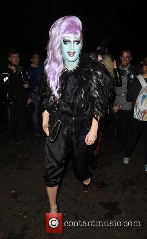 Jodie Harsh - Jonathan Ross' Halloween party - Arrivals - London, United Kingdom - Friday 31st October 2014