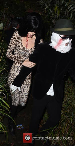 Claudia Schiffer - Jonathan Ross' Halloween party - Arrivals - London, United Kingdom - Friday 31st October 2014