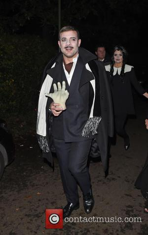 Dermot O'Leary - Jonathan Ross' Halloween party - Arrivals - London, United Kingdom - Friday 31st October 2014