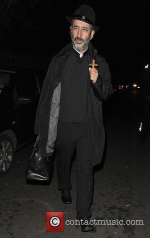 David Baddiel - 'Jonathan Ross' Halloween party - Arrivals - London, United Kingdom - Friday 31st October 2014