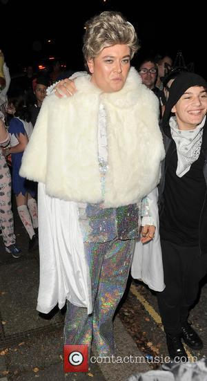 Alan Carr - 'Jonathan Ross' Halloween party - Arrivals - London, United Kingdom - Friday 31st October 2014