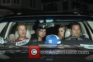 David Spade - Shots from Kate Hudson's Halloween party as a variety of stars arrived in Los Angeles, California, United...