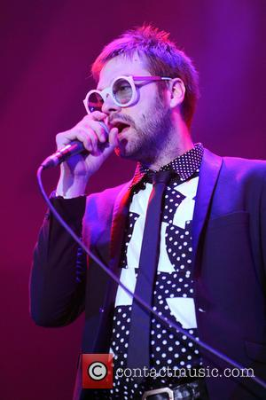 Tom Meighan - Kasabian perform live at the Mediolanum Forum - Milan, Italy - Saturday 1st November 2014