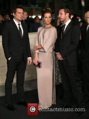 Len Wiseman and Kate Beckinsale - Celebrities attend 2014 LACMA Art + Film Gala honoring Barbara Kruger and Quentin Tarantino...